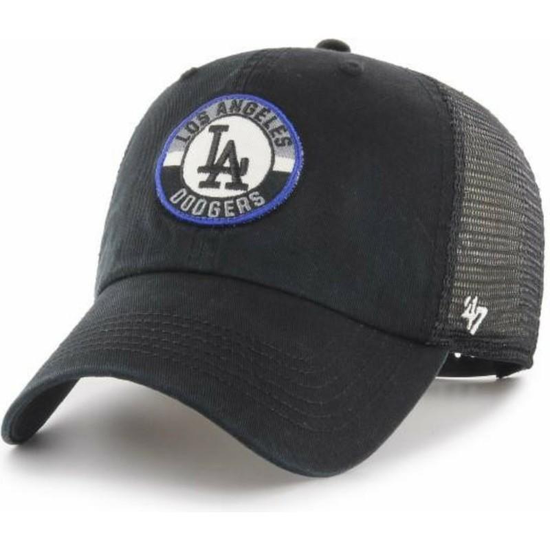 Gorra trucker negra Clean Up Porter de Los Angeles Dodgers MLB de 47 ... f408a3bbf7f