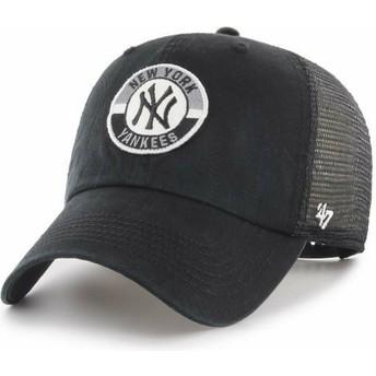 Gorra trucker negra Clean Up Porter de New York Yankees MLB de 47 Brand