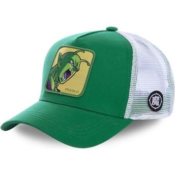 Gorra trucker verde y blanca Piccolo PIC1 Dragon Ball de Capslab