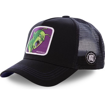 Gorra trucker negra Piccolo PIC2 Dragon Ball de Capslab