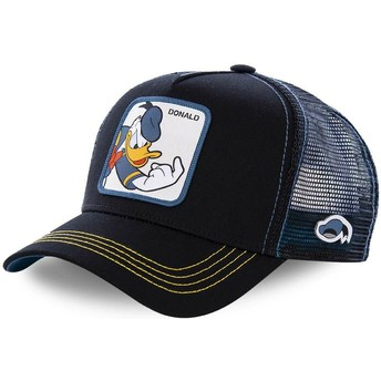 Gorra trucker negra Pato Donald DON2 Disney de Capslab