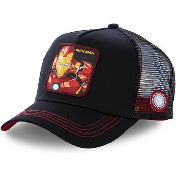 Gorra trucker negra Iron Man IRO2 Marvel Comics de Capslab