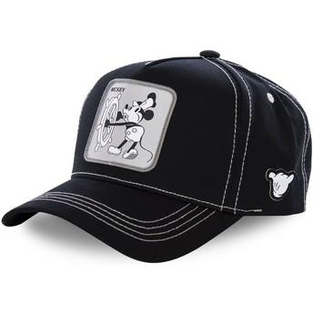Gorra curva negra snapback Mickey Mouse Vintage VIN1 Disney de Capslab