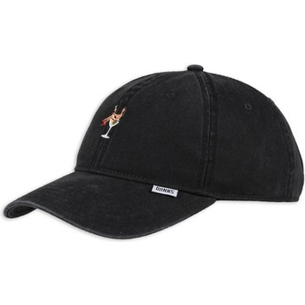 Gorra curva negra ajustable Coloured Girl de Djinns