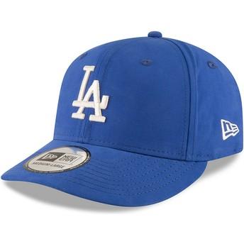 Gorra curva azul snapback 9FIFTY Nylon Pre Curved Fit de Los Angeles Dodgers MLB de New Era