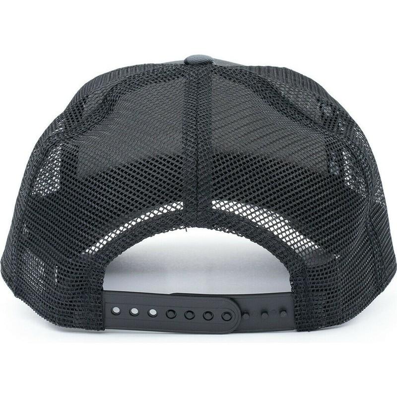 Gorra trucker camuflaje negro Essential Camo A Frame de Oakland ... 897be83d436