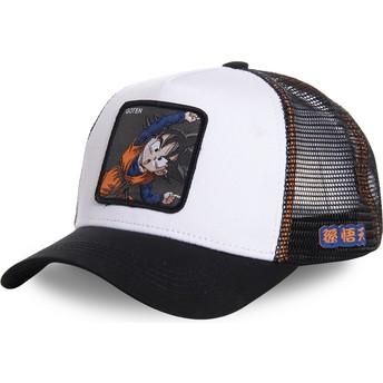 Gorra trucker blanca Goten Fusion GTN3 Dragon Ball de Capslab