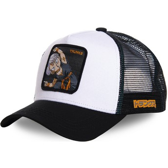 Gorra trucker blanca Trunks Fusion TRK2 Dragon Ball de Capslab