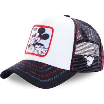 Gorra trucker blanca Mickey Mouse Floatin FLO Disney de Capslab