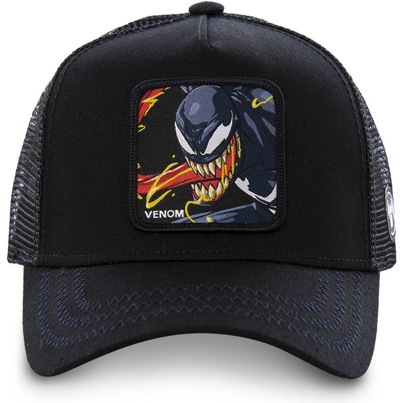 fbf659467148 Gorra trucker negra Venom VEN2 Marvel Comics de Capslab