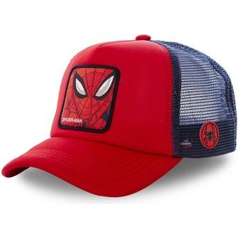 Gorra trucker roja y azul Spider-Man SPI4M Marvel Comics de Capslab