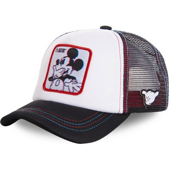 Gorra trucker blanca Mickey Mouse Floatin FLO2M Disney de Capslab