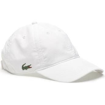 Gorra curva blanca ajustable Basic Dry Fit de Lacoste