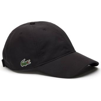Gorra curva negra ajustable Basic Dry Fit de Lacoste