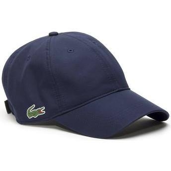 Gorra curva azul marino ajustable Basic Dry Fit de Lacoste
