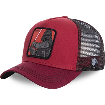 Gorra trucker roja Darth Vader VAD Star Wars de Capslab