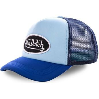 Gorra trucker azul FAO BLU de Von Dutch
