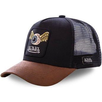Gorra trucker negra y marrón GRN6 de Von Dutch