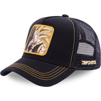 Gorra trucker negra Gotenks Super Saiyan 3 GOT3 Dragon Ball de Capslab