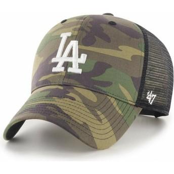 Gorra trucker camuflaje con logo blanco MVP Branson 2 de Los Angeles Dodgers MLB de 47 Brand