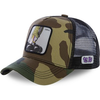 Gorra trucker camuflaje Cell CEL Dragon Ball de Capslab