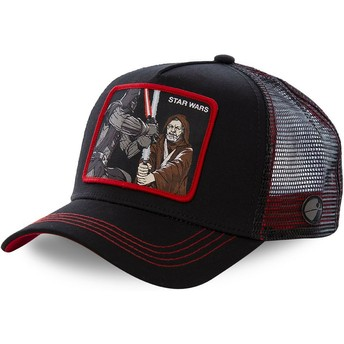 Gorra trucker negra Darth Vader Vs Obi-Wan LTD2 Star Wars de Capslab