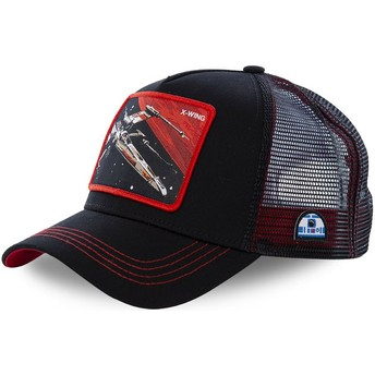 Gorra trucker negra X-wing starfighter LTD6 Star Wars de Capslab