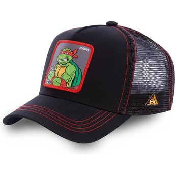 Gorra trucker negra Raphael RAP Tortugas Ninja de Capslab