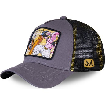 Gorra trucker gris Gohan Vs Majin Buu WHO2 Dragon Ball de Capslab