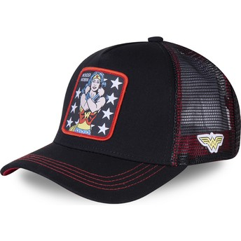 Gorra trucker negra Wonder Woman WON2 DC Comics de Capslab