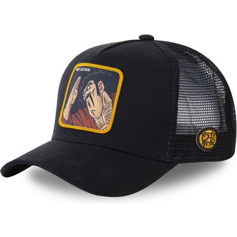Gorra trucker negra Mr. Satan SAT3 Dragon Ball de Capslab