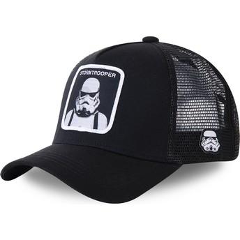 Gorra trucker negra Stormtrooper BA Star Wars de Capslab