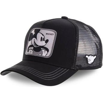 Gorra trucker negra Mickey Mouse MIC5 Disney de Capslab