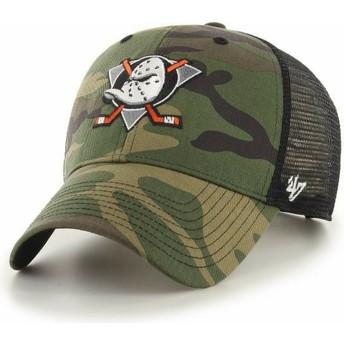 Gorra trucker camuflaje MVP Branson de Anaheim Ducks NHL de 47 Brand