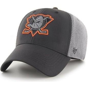 Gorra curva negra MVP Arlo de Anaheim Ducks NHL de 47 Brand