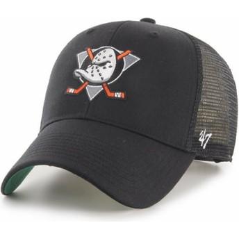 Gorra trucker negra MVP Branson de Anaheim Ducks NHL de 47 Brand