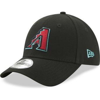 Gorra curva negra ajustable 9FORTY The League de Arizona Diamondbacks MLB de New Era