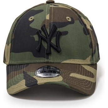 Gorra curva camuflaje ajustable para niño 9FORTY League Essential de New York Yankees MLB de New Era