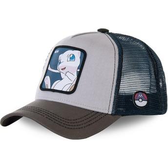 Gorra trucker gris y azul Mew MEW1 Pokémon de Capslab