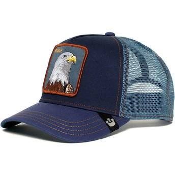 Gorra trucker azul marino águila Eagle de Goorin Bros.