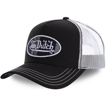 Gorra trucker negra y blanca CARD1 de Von Dutch