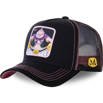 Gorra trucker negra y rosa Buu BIG3 Dragon Ball de Capslab