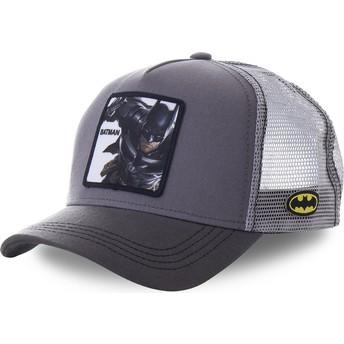 Gorra trucker gris Batman BTM1 DC Comics de Capslab