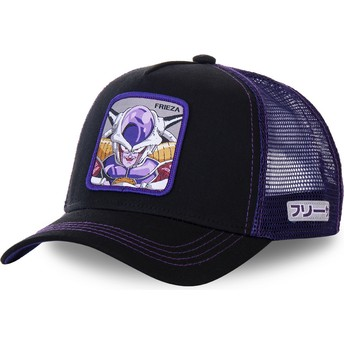 Gorra trucker negra y violeta Frieza FRI1 Dragon Ball de Capslab
