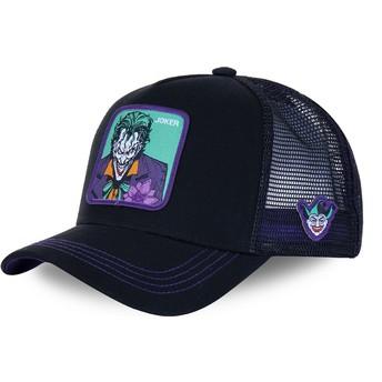 Gorra trucker negra y violeta Joker JKR2 DC Comics de Capslab
