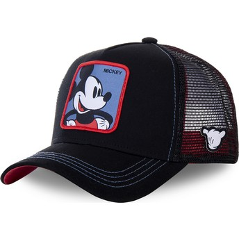 Gorra trucker negra Mickey Mouse MIC2 Disney de Capslab