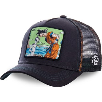 Gorra trucker azul marino Goku Vs Frieza Namek NAM3 Dragon Ball de Capslab