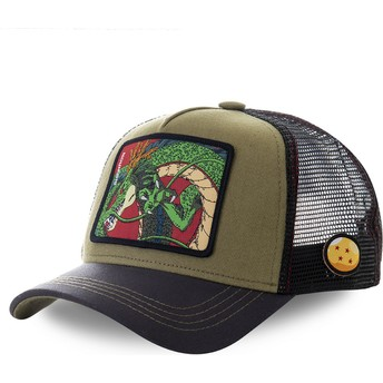 Gorra trucker marrón Shenron RON1 Dragon Ball de Capslab