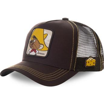 Gorra trucker marrón Speedy Gonzales SPE1 Looney Tunes de Capslab