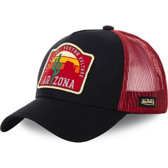 Gorra trucker negra y roja Arizona AZ2 de Von Dutch